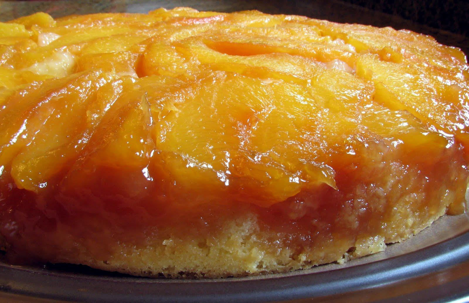 Best Peach Upside Down Cake
