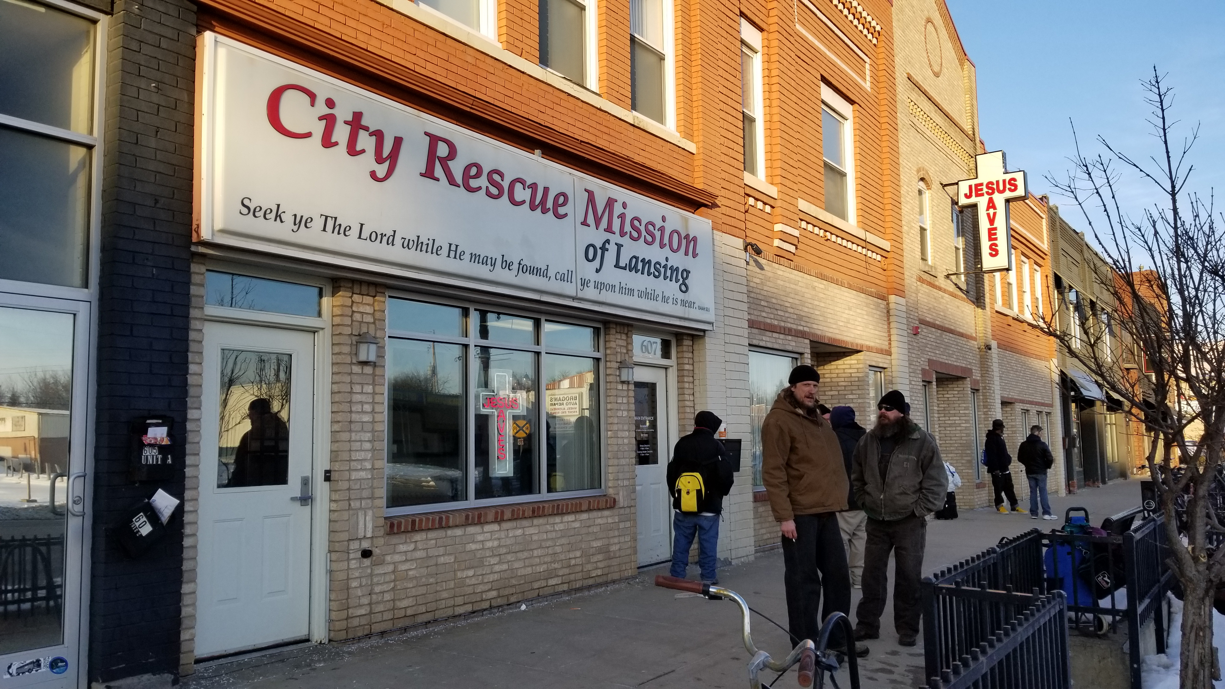c646a35c9 The City Rescue Mission located at 607 E Michigan Avenue in Lansing