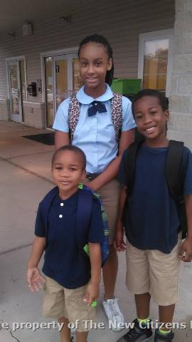 Tyana Robert and Elijah