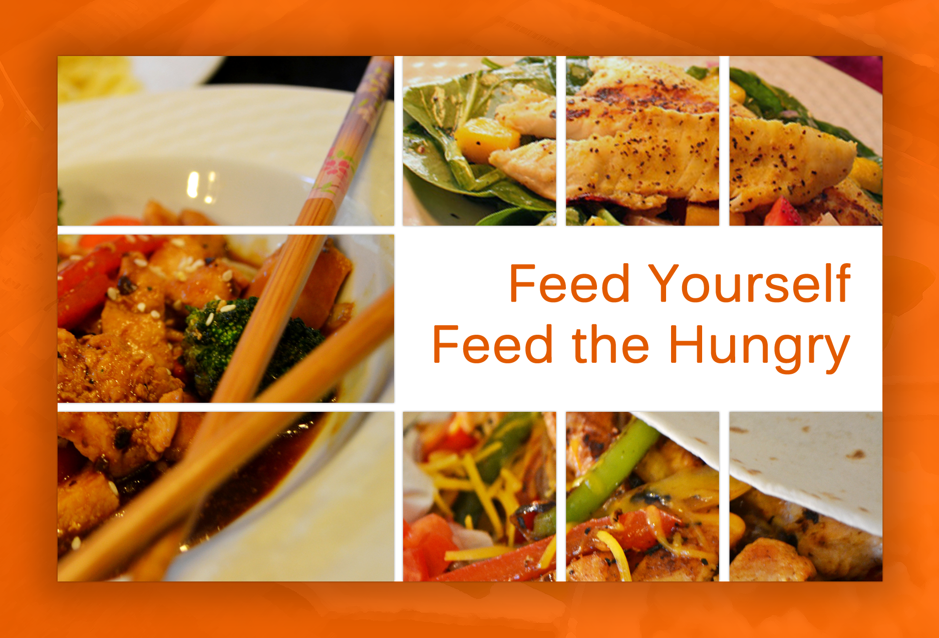 Creative cookbook raises money for local food bank the new her new book feed yourself feed the hungry is a fundraising project in which all profits will be donated to the greater lansing food bank forumfinder Images